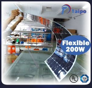 200w Flexible Solar Panel 200 Watt Solar Panel Taipo