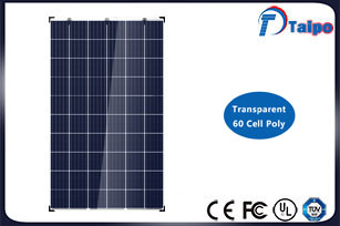 Transparent Poly Solar Panel