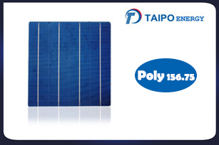 Poly Solar Cell, 156.75mm, 4BB