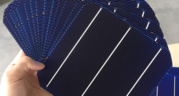 Bifacial mono solar cell, 19.8% efficiency,156*156mm