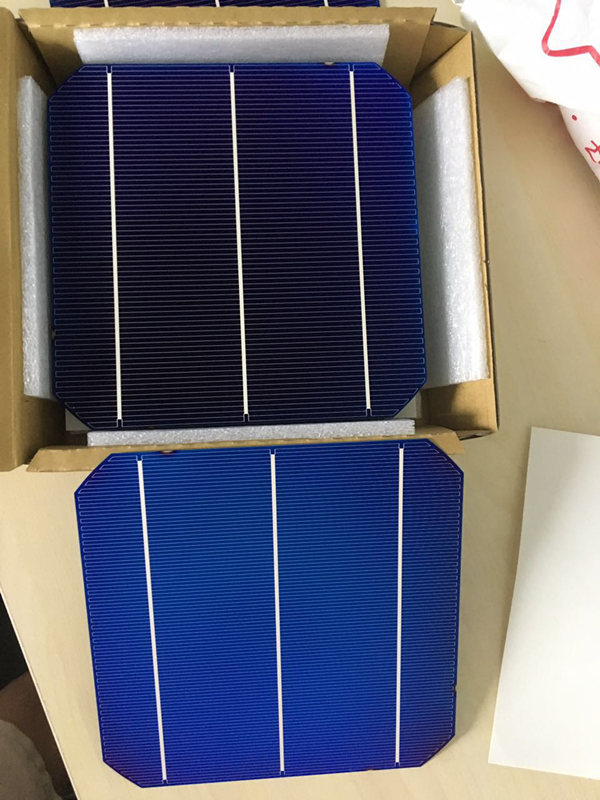 Bifacial Mono Solar Cell 19 8 Efficiency 156 156mm