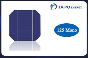 Mono Solar Cell 125mm (150mm diagonal)