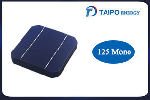 Mono Solar Cell 125mm (165mm diagonal)