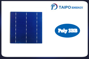 Poly Solar Cell, 156mm,3BB